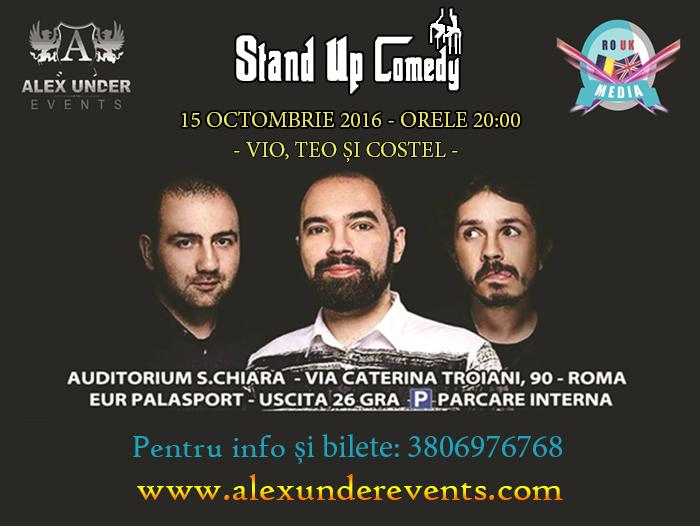 Stand Up Comedy La Roma