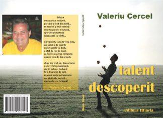 """Poetul Valeriu Cercel, un """"Talent Descoperit"""". Lansare de carte la Roma, 30 Octombrie, 2016"""
