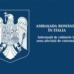 Ambasada României în Italia – Informații de călătorie în zona afectată de cutremur.