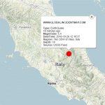 Cutremur puternic cu magnitudinea de 5,4 în Italia. Epicentrul cutremurului lângă Castel Sant'Angelo sul Nera, Macerata.