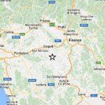 Cutremur de 3.9 grade în provincia Firenze, în această seară.