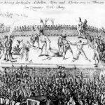 Horea, Cloșca și Crișan -Zdrobirea trupului cu roata, pedeapsă din codul penal austriac.