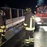 Toscana – accident fatal pentru un șofer român pe E45. A zburat 50 de metri cu TIR-ul.