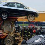 Piacenza – accident grav între 4 TIR-uri pe A21. Șofer român de 24 de ani decedat pe loc.