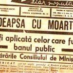 Pedeapsa cu moartea la români în perioada comunistă – ochi pentru ochi și dinte pentru dinte