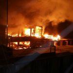 """Incendiu de proporții în clubul Bamboo din București. Primăria: """"Nu avea autorizație de funcționare"""""""