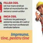 """""""Cu tine, pentru tine"""" – proiect de consultanță oferit de sindicatele italiene românilor care doresc să lucreze în Italia"""