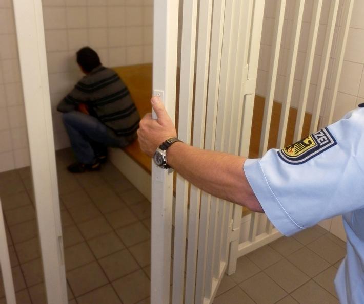 Bărbatul român a fost închis în penitenciarul din Traunstein. Foto: Bundespolizeiinspektion Rosenheim.