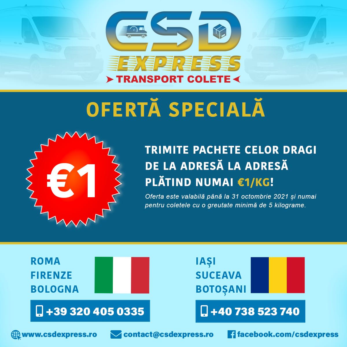 CSD Express - Transport Colete
